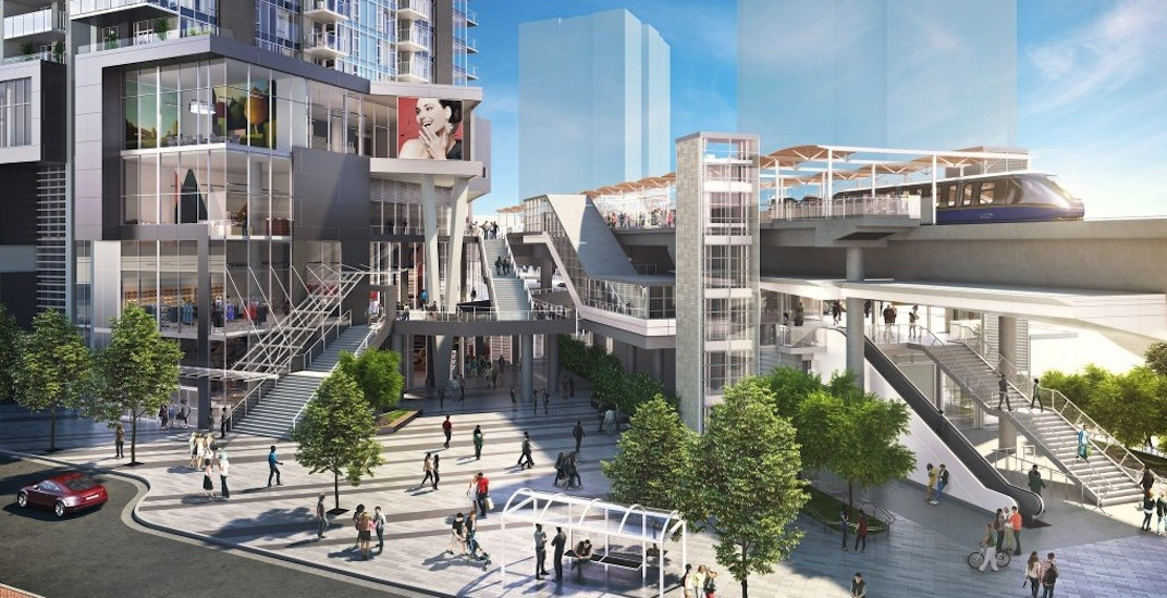 Metro Vancouver's tallest tower will transform Gilmore Station (RENDERINGS)