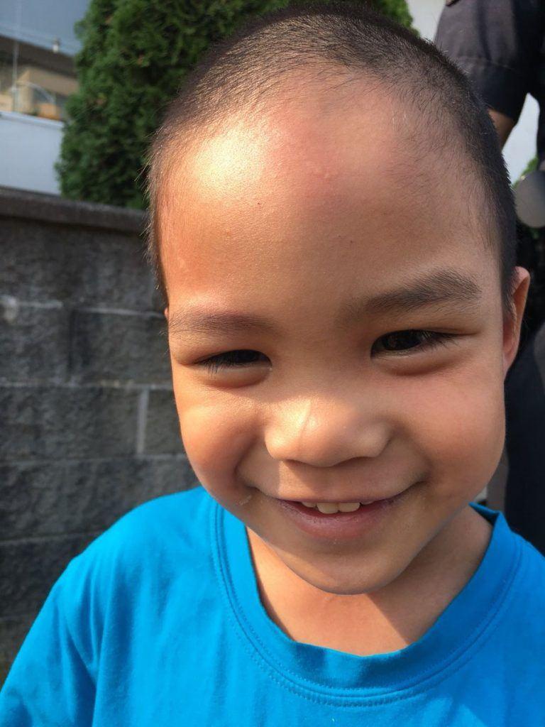 three-year-old boy