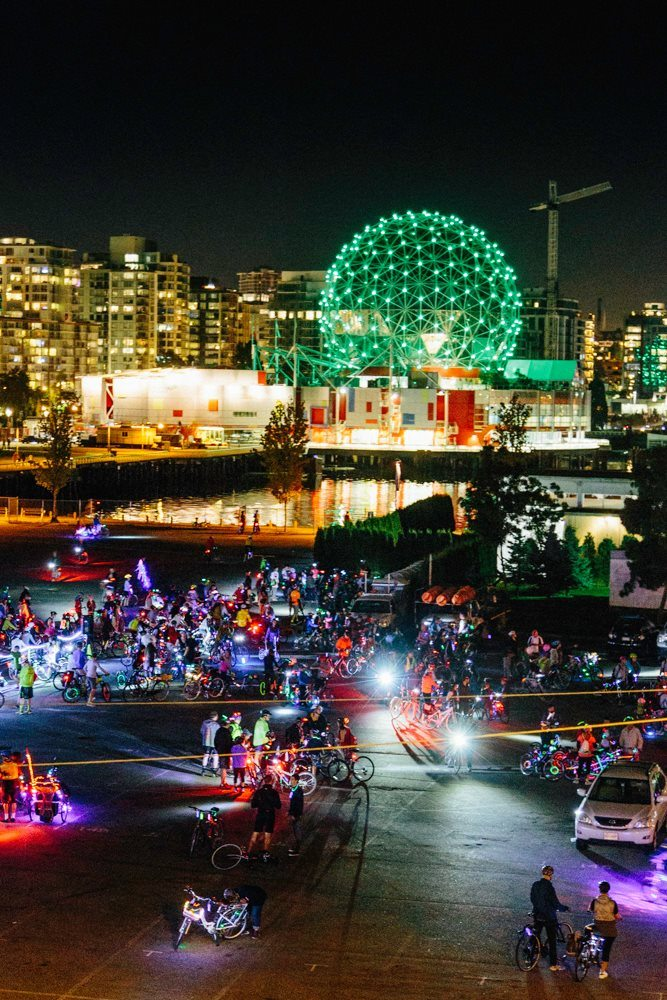 BC's largest nighttime bike ride returns to Vancouver this ...