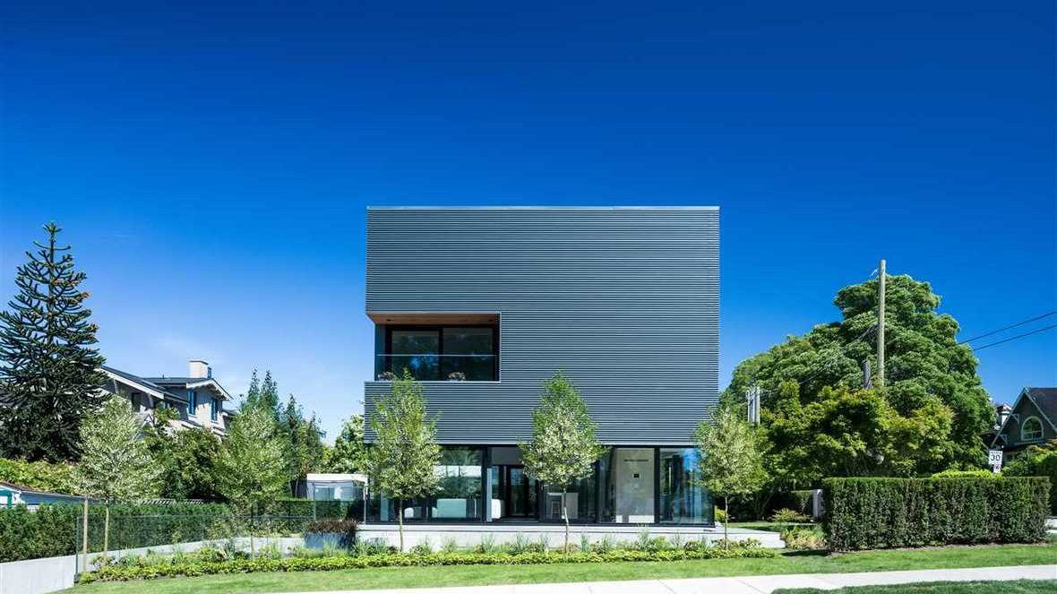 Cube House 3691 Point Grey Road Vancouver