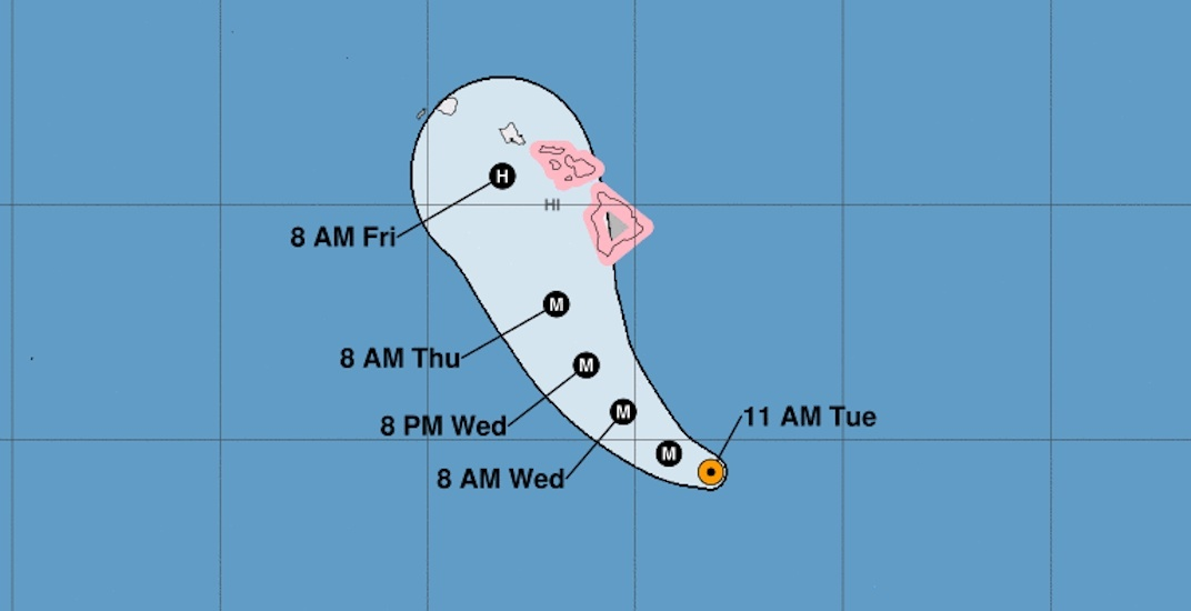 Canada issues travel advisory for Hawaii due to Category 4 hurricane threat