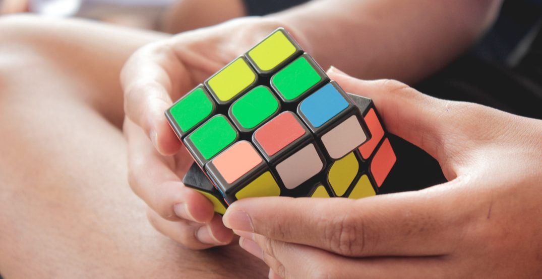 The world's largest Rubik's Cube is being unveiled in Calgary today