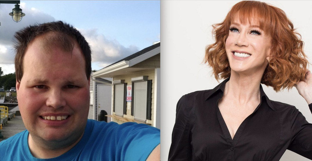 Kathy Griffin gives shout out to Canada's most famous indie-weather reporter