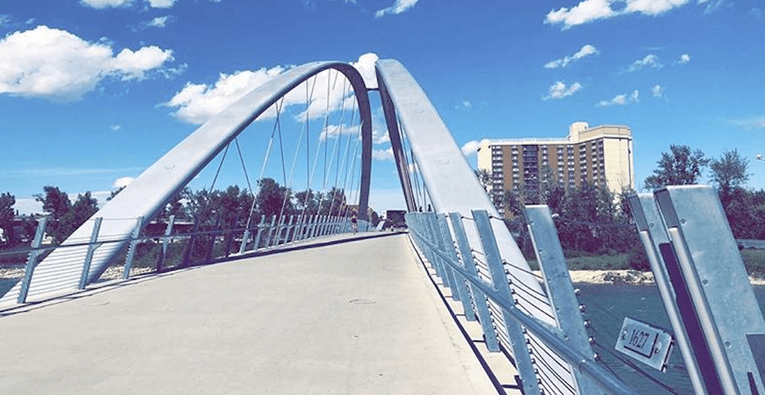 One of Calgary's newest bridges is currently closed due to a crack