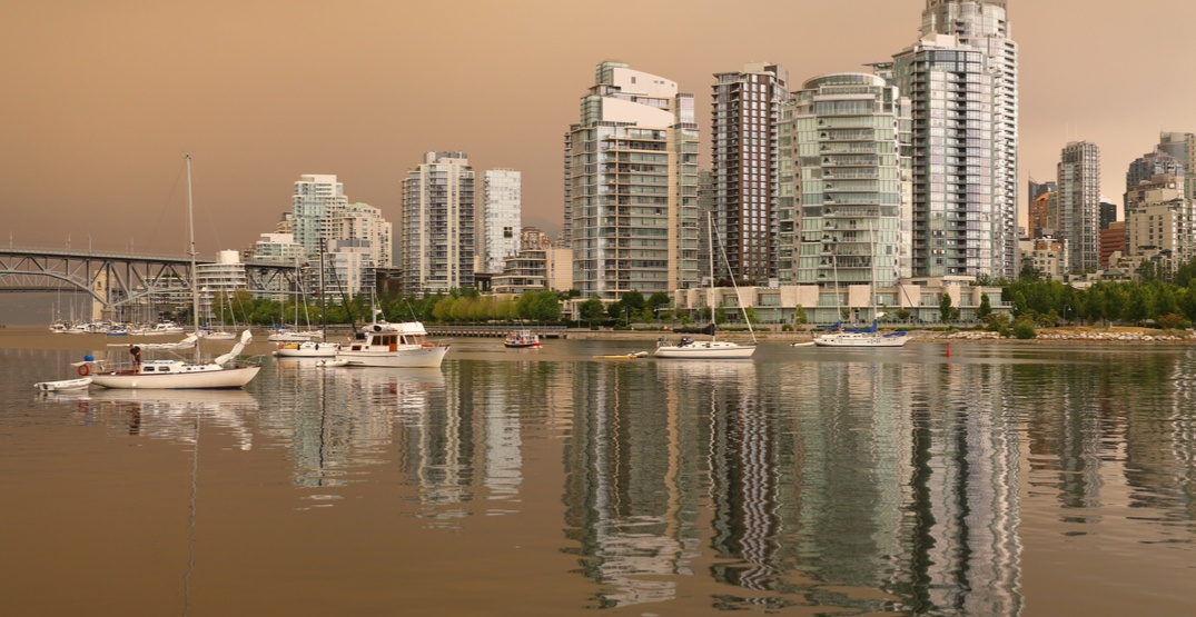Vancouver broke a historical record for hours of consistent smoke