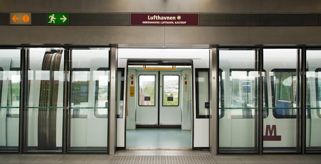 Copenhagen Metro platform screen doors
