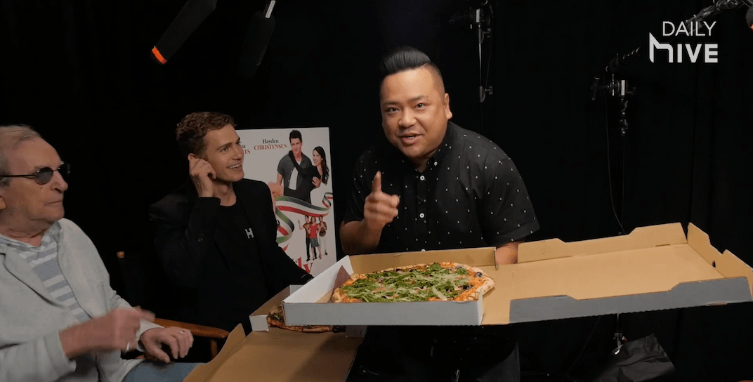 Andrew Phung is Little Italy's newest pizza delivery boy (VIDEO)