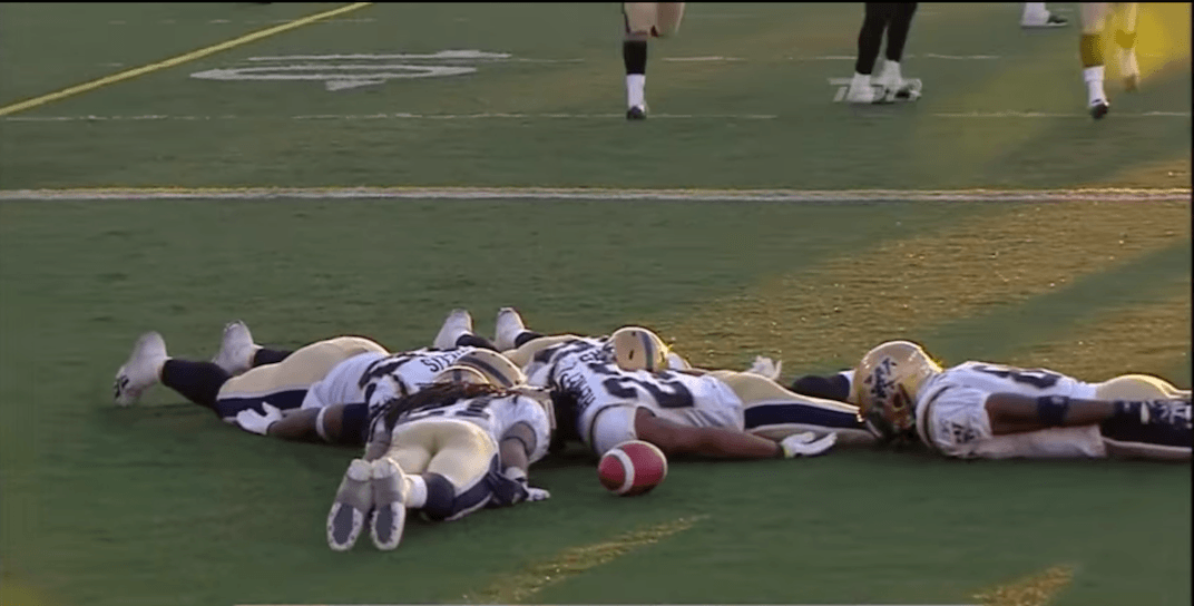 Here are the best CFL touchdown celebrations of all-time (VIDEO)