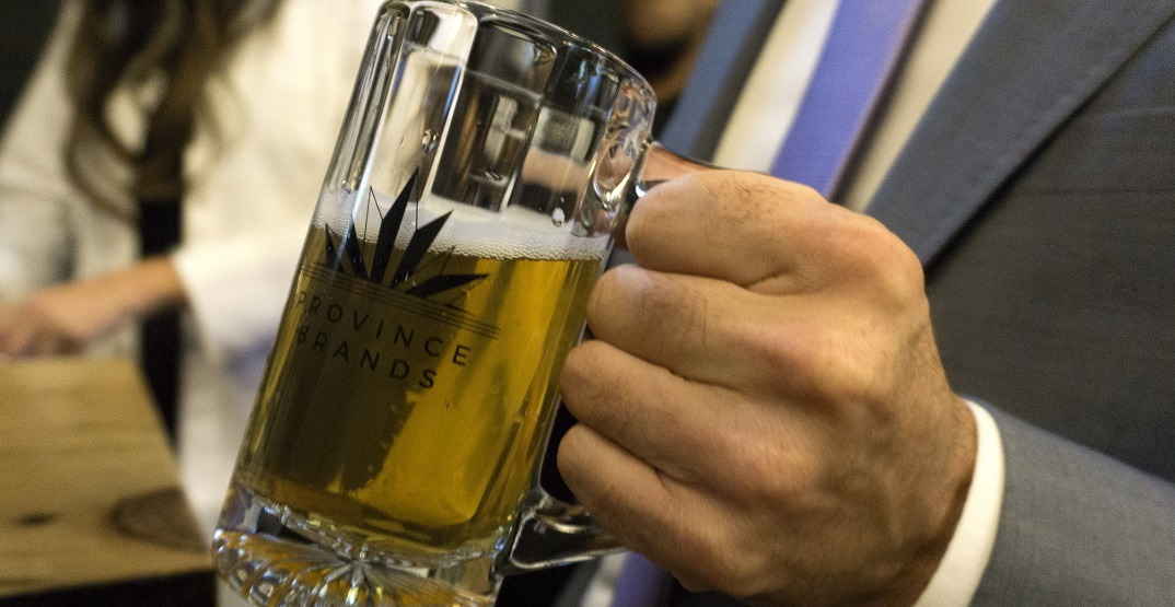Canadian company brewing cannabis beer raises over $15 million in funding