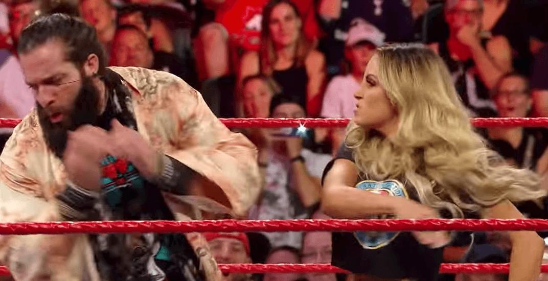WWE wrestler sh*t talks Toronto before getting slapped by Trish Stratus (VIDEO)