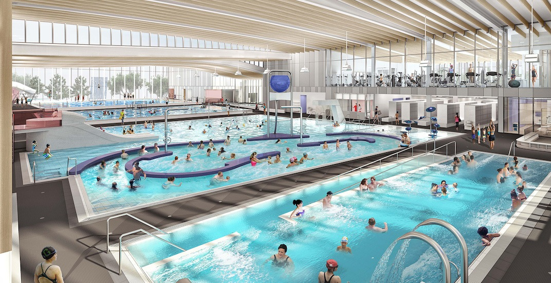 New 80 million richmond aquatic centre set to open this - Centennial swimming pool richmond hill ...