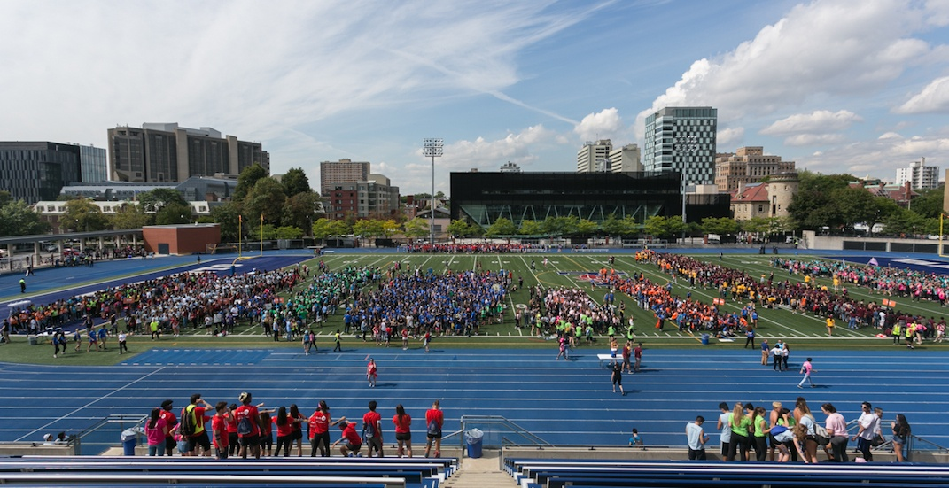 There's a huge student parade kicking off Welcome Week in Toronto