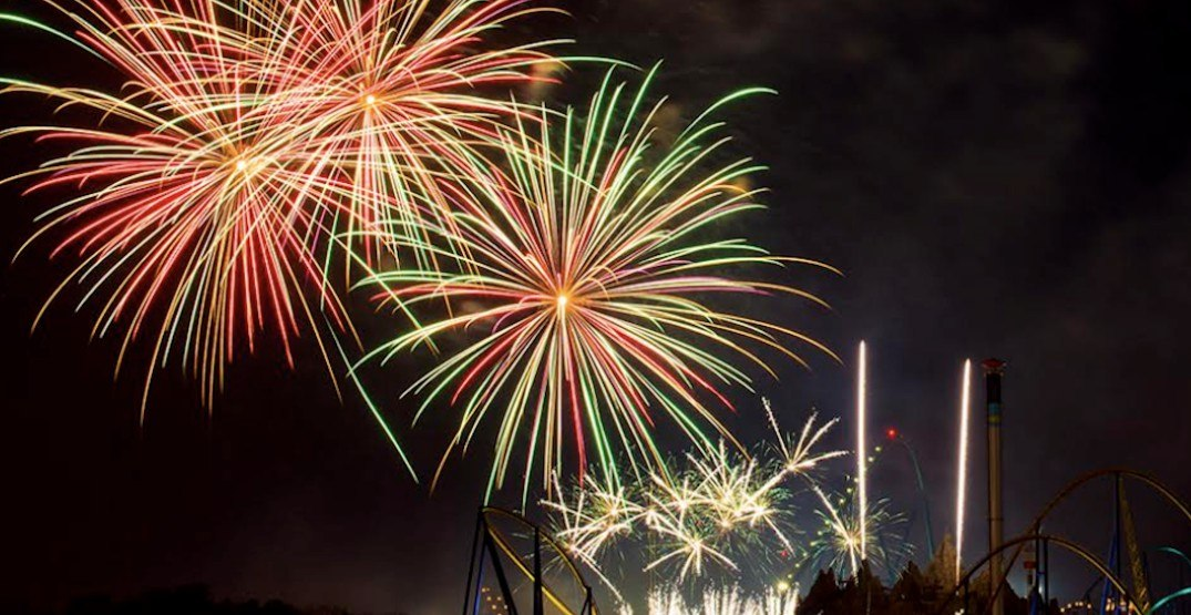 Canada's Wonderland hosting huge fireworks show this long weekend