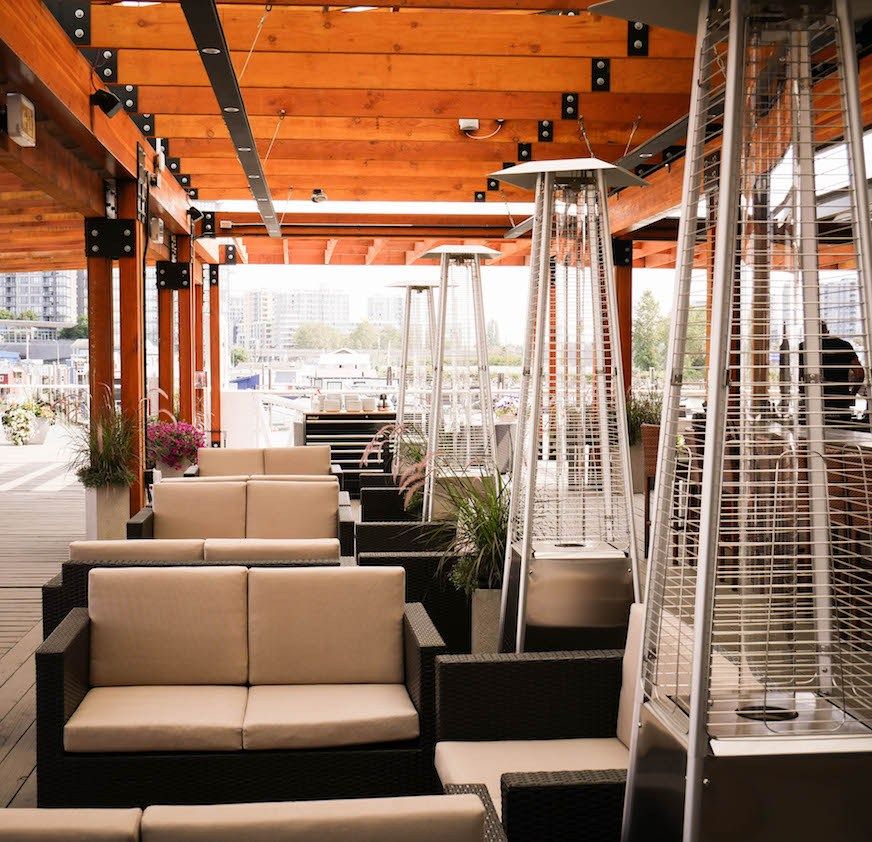 This New Richmond Waterfront Eatery Has A MASSIVE Patio