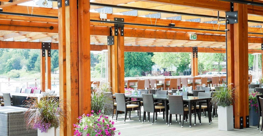 This new Richmond waterfront eatery has a MASSIVE patio (PHOTOS)