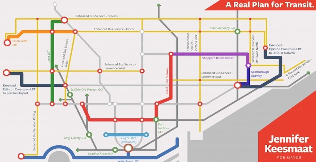 Jennifer Keesmaat unveils her ambitious new transit plan for Toronto