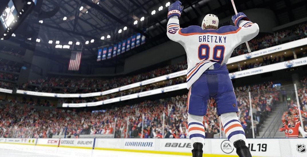 Watch Wayne Gretzky play Alex Ovechkin in NHL 20