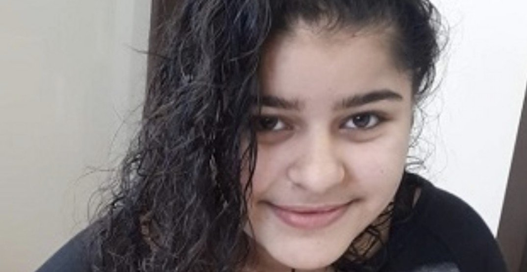 Surrey RCMP search for missing 12-year-old girl