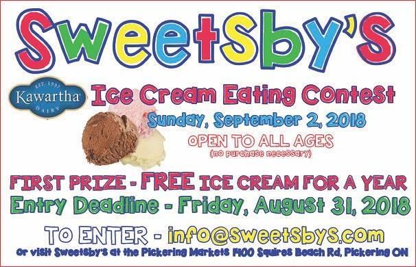 ice cream eating contest