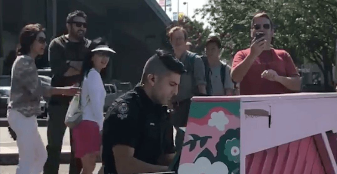 Vancouver Police officer shows off his surprise musical talent (VIDEO)