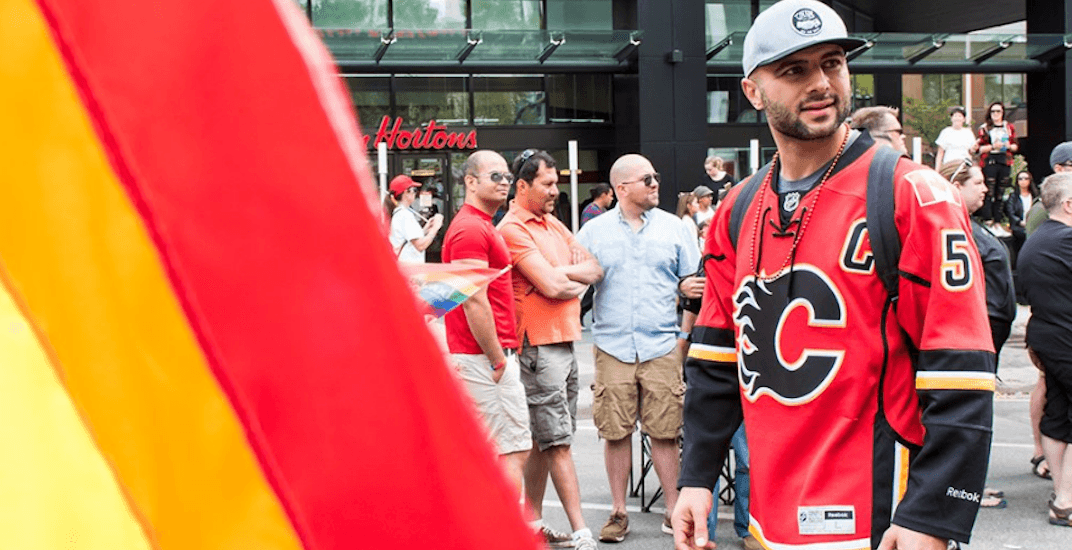 5 Flames players will march in Calgary Pride Parade this weekend