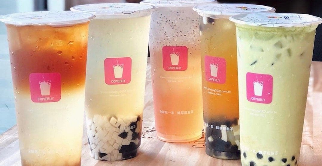 Where to get $1 bubble tea in Vancouver this week