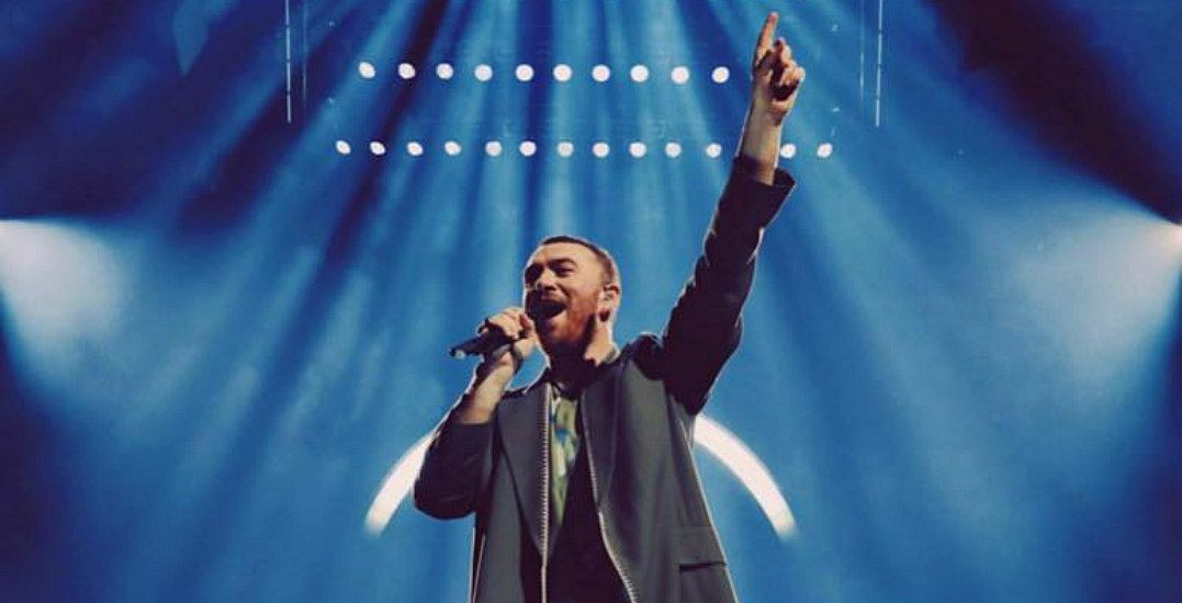 Sam Smith is performing live in Vancouver and you can win tickets