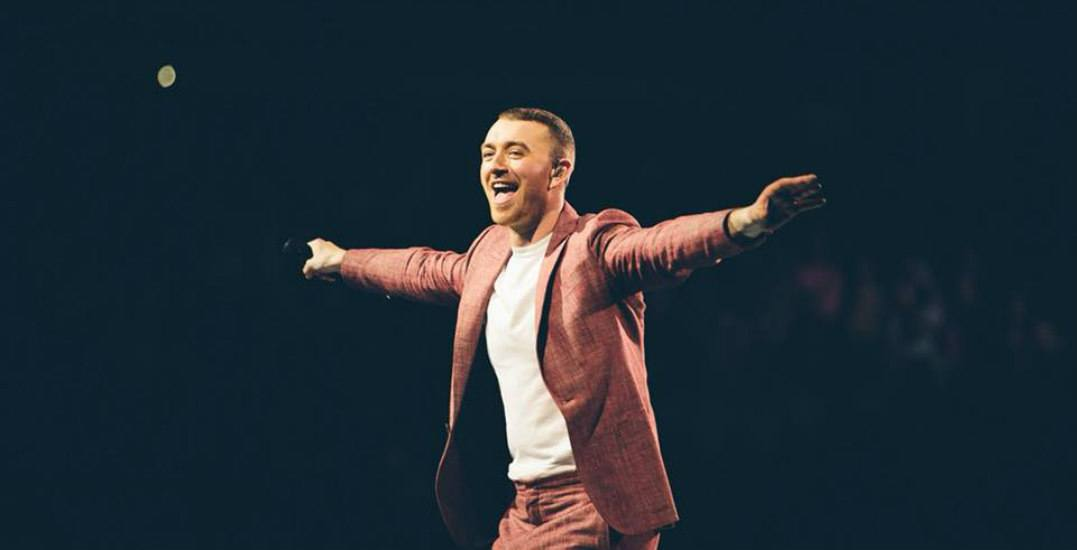 Last night's Sam Smith concert in Calgary was straight fire (PHOTOS)