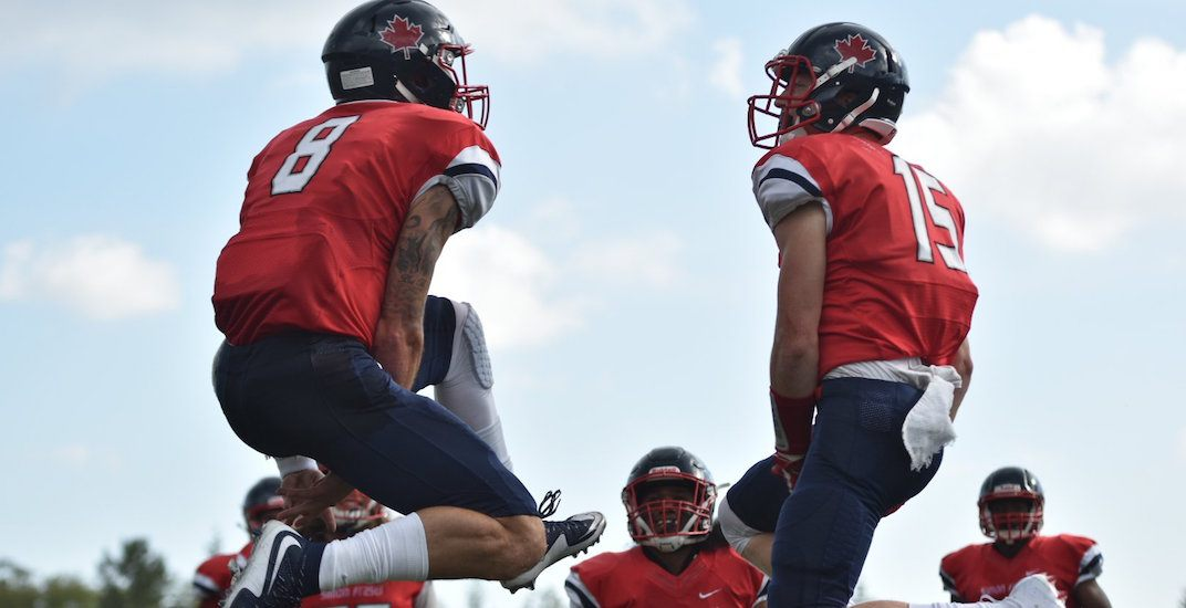 SFU football team wins first game in nearly 4 years