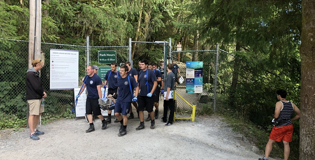 Grouse Grind temporarily closed on weekend after hiker suffers heart attack