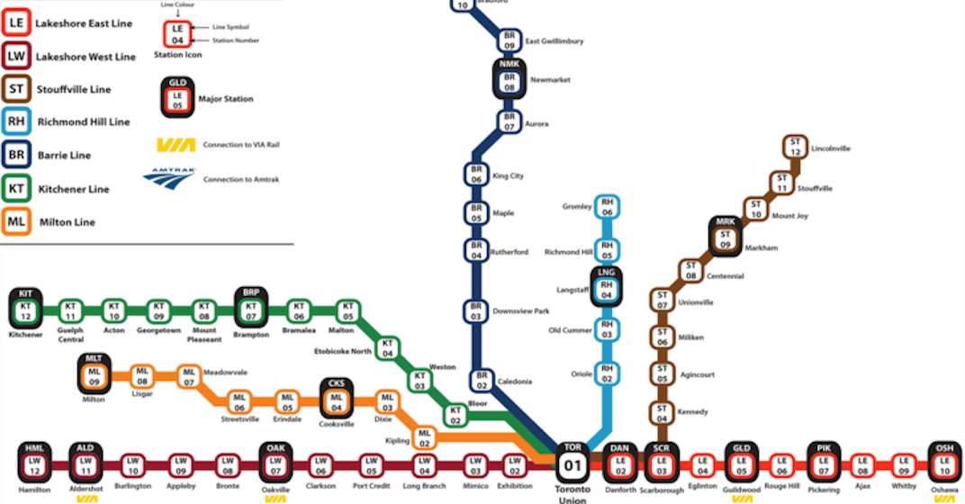 Toronto Go Train Map Someone made an epic Japanese style GO Train map | Daily Hive Toronto Toronto Go Train Map