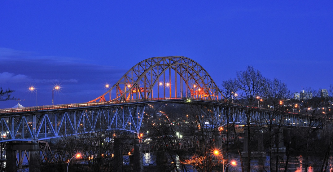 Overnight closures on the Pattullo Bridge begin this weekend