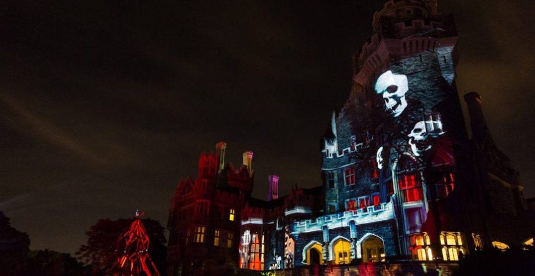 Casa Loma is turning into a massive (and creepy) haunted house for Halloween