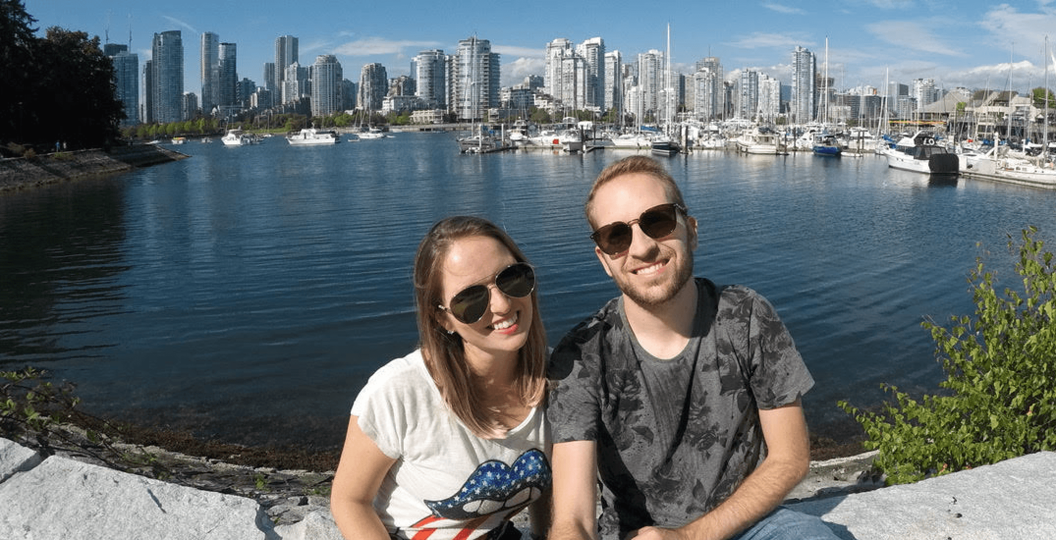 These tourists lost a GoPro in Vancouver and we want to help return it