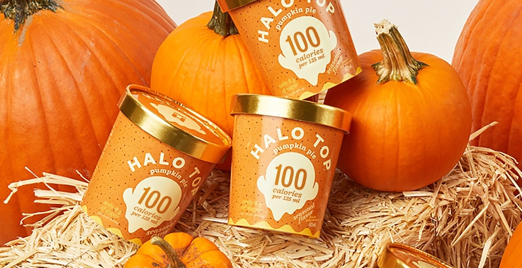 10,000 FREE pints of pumpkin pie ice cream up for grabs this fall
