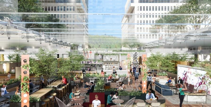 Massive gourmet food garden coming to heart of downtown Montreal (RENDERINGS)