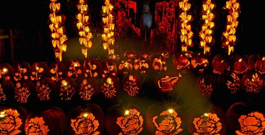 An amazing pumpkin lantern festival starts near Montreal this month