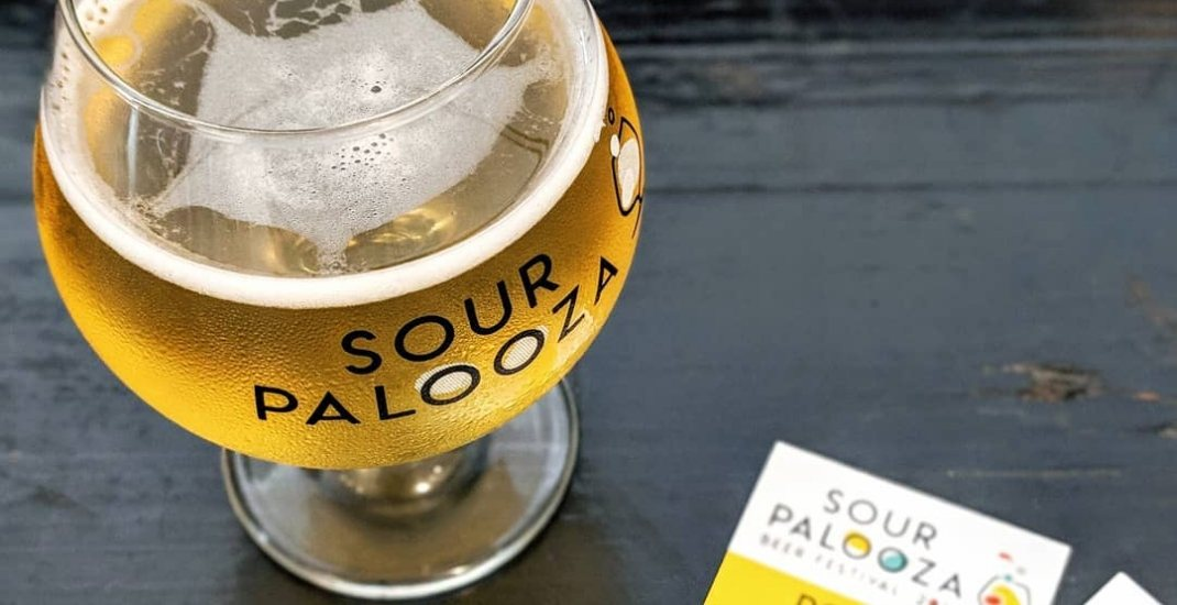 There's a sour beer festival just outside of Toronto this weekend