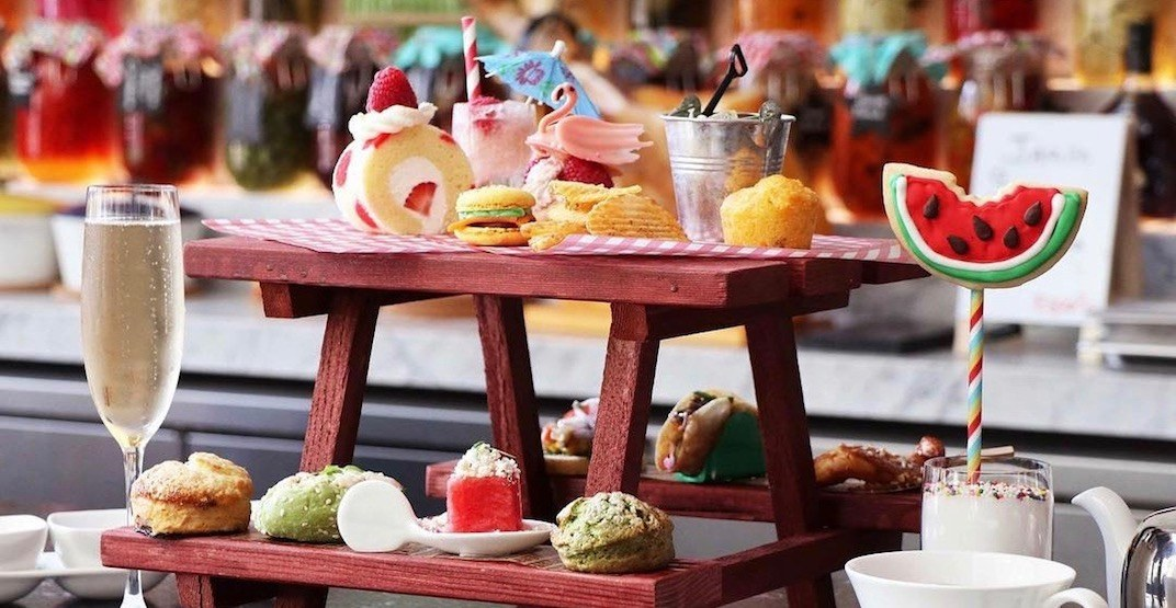 Try this stunning summer afternoon tea service before it's gone (PHOTOS)