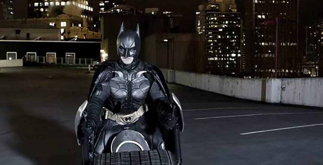 Someone in Vancouver is giving away two 'Batpod' tires