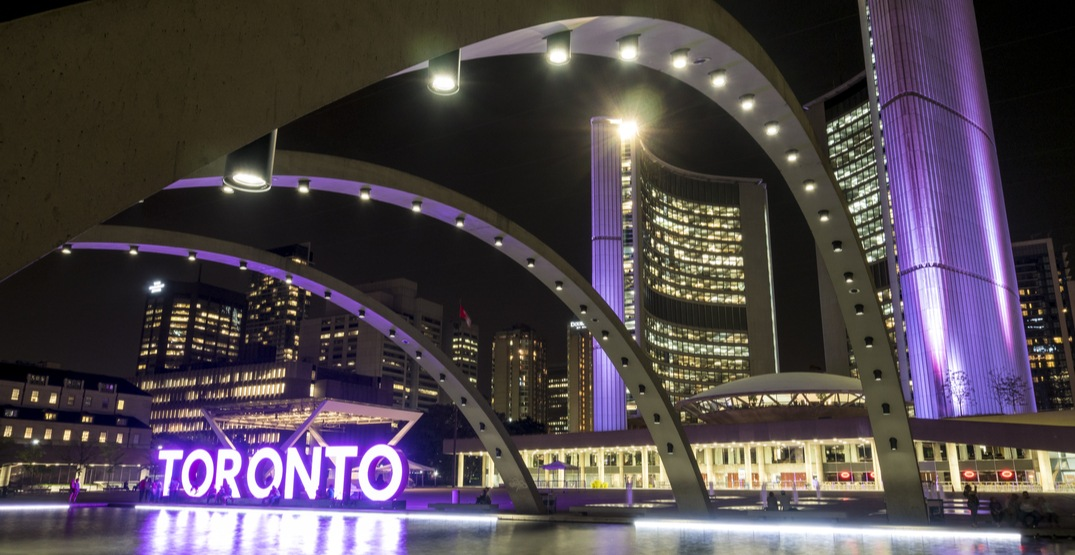 Major landmarks across Canada will be turning purple this month