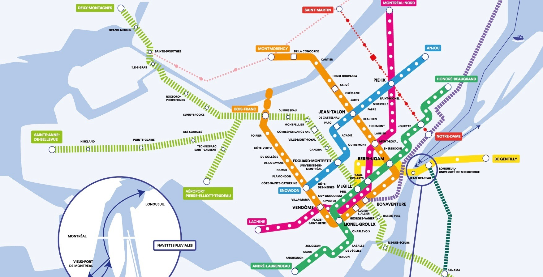 Montrela Subway Map.Quebec Solidaire Promises To Add 38 More Metro Stations If Elected