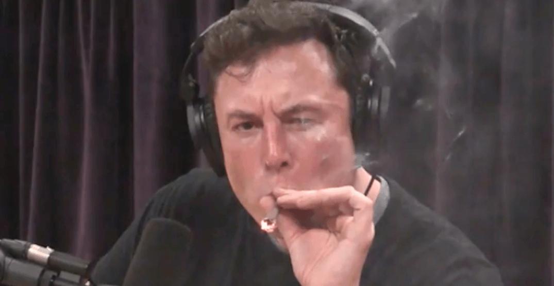 Elon Musk smokes weed with Joe Rogan during podcast (VIDEO)