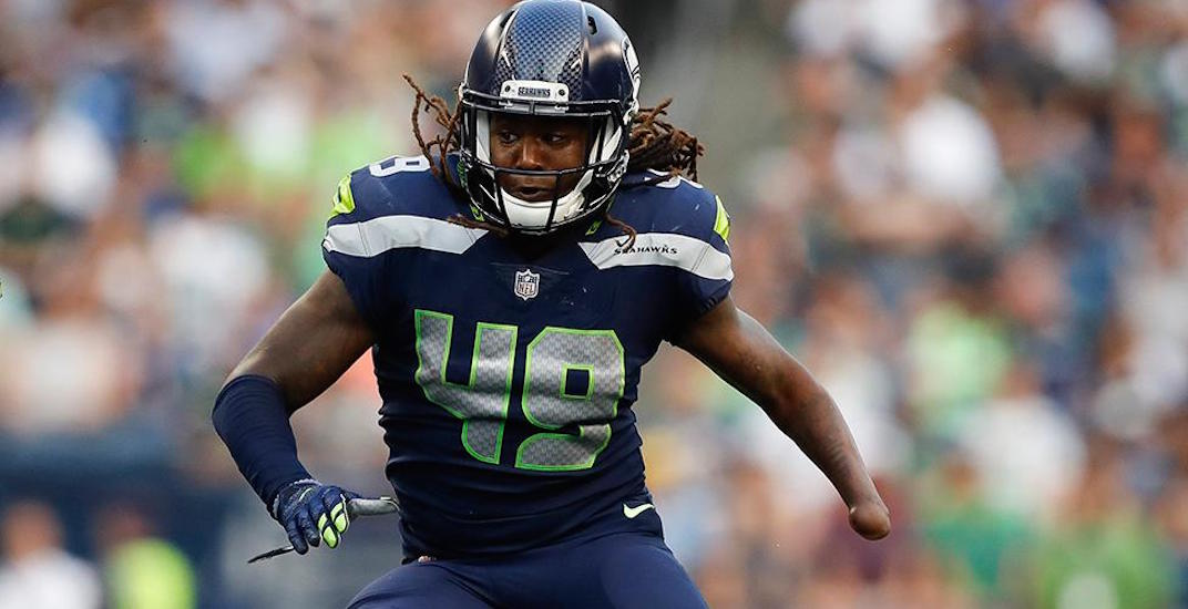 One-handed linebacker will make NFL debut for Seahawks this weekend