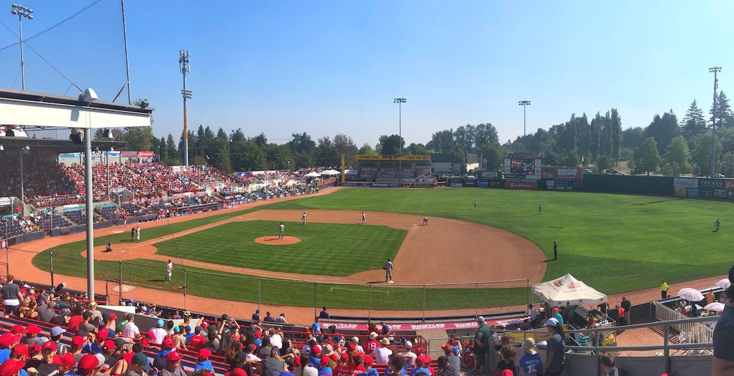 Nat Bailey Stadium named one of North America's best minor league ballparks
