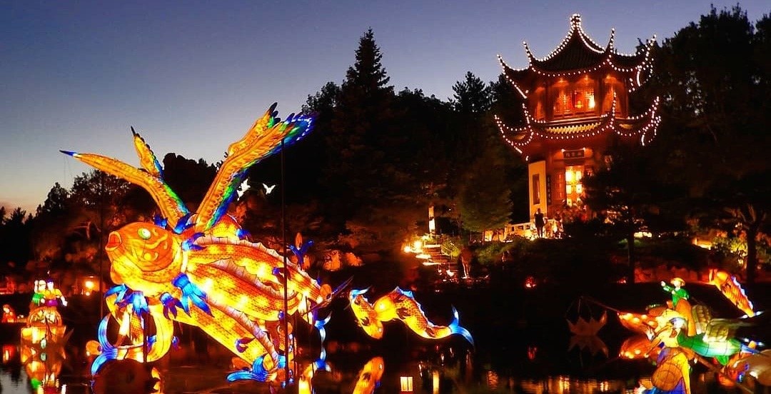 19 pictures from the opening weekend of Montreal's magical Gardens of Light festival