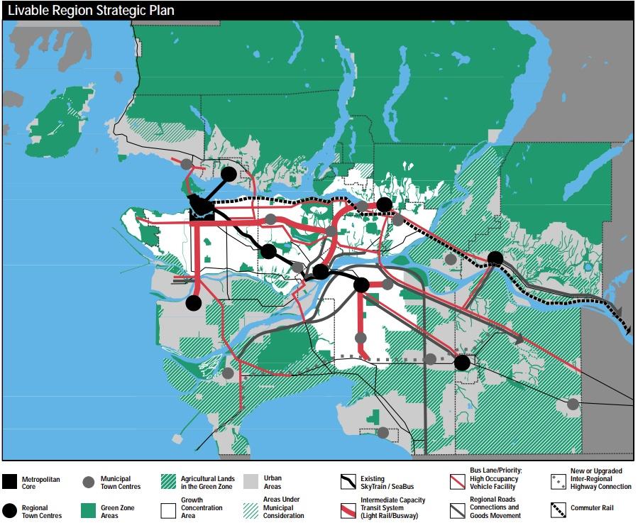 Metro Vancouver Land Use