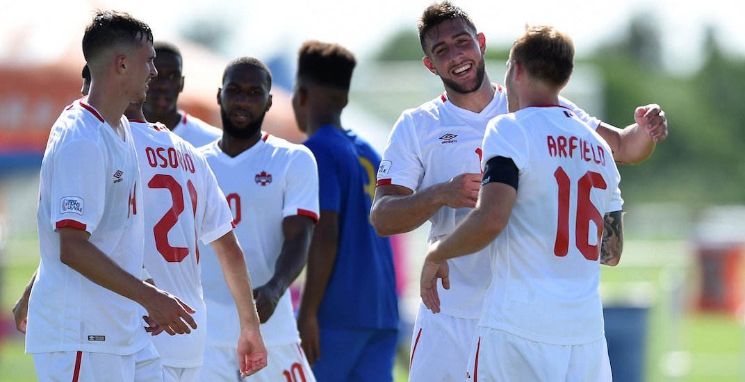 Canada's national soccer team sets new goals record in blowout win