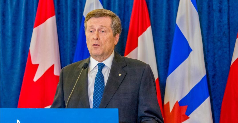 John Tory re-elected as Mayor of Toronto in landslide win