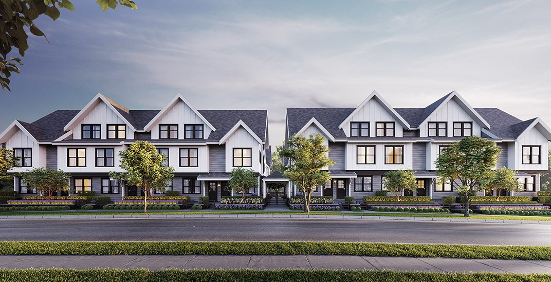 This new development brings 22 exclusive townhomes to South Burnaby